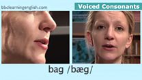 The Sound of English: Voiced Consonants: Bag
