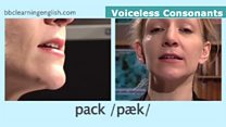 The Sound of English: Voiceless Consonants: Pack