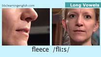 The Sound of English: Long Vowels: Fleece