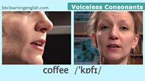 The Sound of English: Voiceless Consonants: Coffee