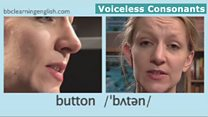 The Sounds of English: Voiceless consonants: button