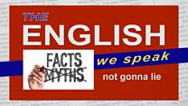The English We Speak: Not gonna lie: Image