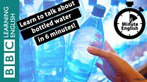 6-minute-English-bottled water...