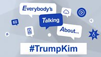 Everyone is talking about ... #TrumpKim-plain: Image