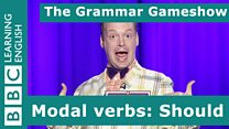 Grammar Gameshow: should