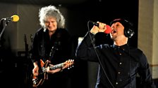Image for Dappy and Brian May - Live Lounge with Trevor Nelson