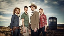 River, Rory, The Doctor, and Amy