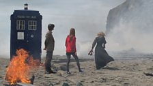 The Doctor, Amy and River