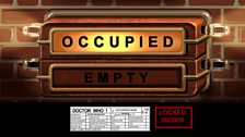 Voting Cubicle Occupied Sign