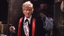 Jon Pertwee as the Third Doctor