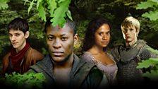 Merlin, Elyan, Gwen and Arthur