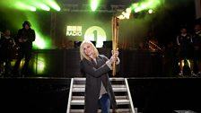 Fearne & The Olympic Torch
