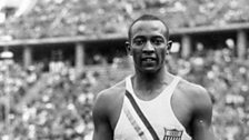Image for Jesse Owens wins 100 metres gold