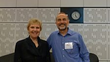 Dame Felicity Palmer and Mark Richardson