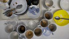 We drink a lot of tea