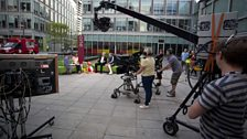 The One Show moves outside