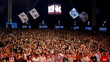 The crowd @ Creamfields 2012