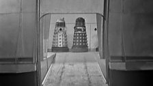 Daleks Preparing to leave the Saucer