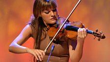 Nicola Benedetti performs the Silver Violin