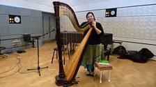 Harpist Tamara Young, 30.08.12