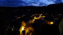 Dulverton before the lights went out
