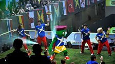 Glasgow Commonwealth Games mascot event