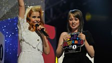 Image for Chelsea receives her Teen Hero Award