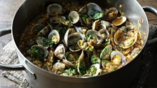 Image for Sardinian couscous with clams