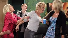 Shirley confronts Glenda over her and Phil's affair
