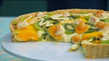 Episode 3 - Tarts - Victoria's tropical fruit tart with black pepper crust