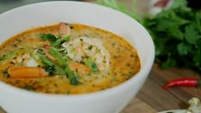 Image for Rich prawn curry
