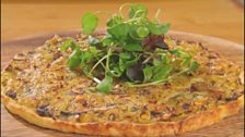 Image for Potato Tart with Mustard, Leeks & Mushrooms by Ainsley Harriot