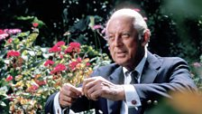Alistair Cooke in the 'America' series, BBC, 1972