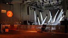 The stage is set for Muse's performance