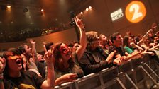 Muse fans enjoying their Radio 2 in Concert
