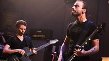 Muse's Matt Bellamy and Chris Wolstenholme