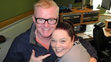 Lisa Riley and Chris Evans