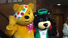 Pudsey and Justin Beaver
