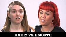 Image for Pressure to be perfect: Hairy Vs Smooth
