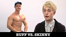 Image for Pressure to be perfect: Buff Vs Skinny