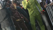 Aidonia steps on stage
