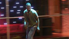 He's so fast, it's a blur