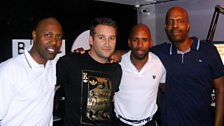 Dane Bowers with the re-united Dreem Team