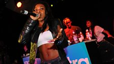 Lady Leshurr on the mic!