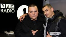 Charlie Sloth and Mic Righteous