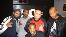 Charlie with the Cream Kartel crew