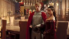 King Arthur Pendragon and Queen Guinevere