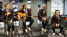 McFly in the Live Space at 5 live