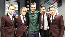 McFly and Richard Bacon