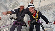 Dallas Campbell, Burjh Khalifa